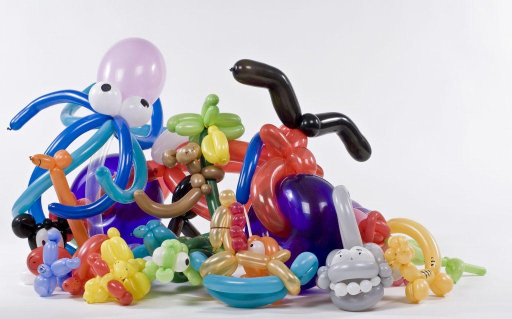 ballonnen kunstwerken