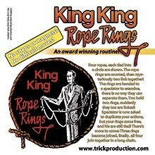 king king rope rings
